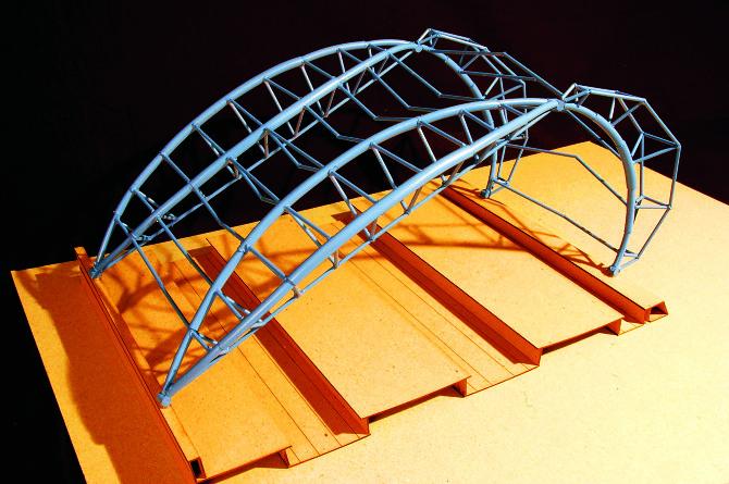 structural analysis    waterloo international terminal